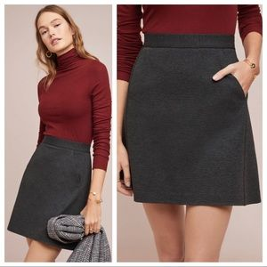 🆕NWT ponte mini skirt - seam detail + pockets!